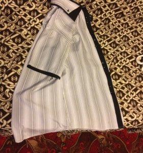 Рубашка с коротким воротником