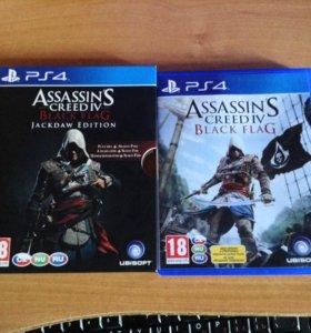 Игра для ps4 Assassins Creed IV Black Flag
