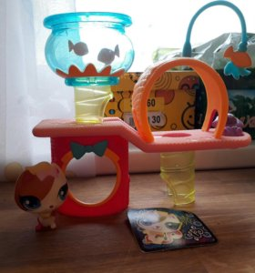 Littlest pet shop LPS домик