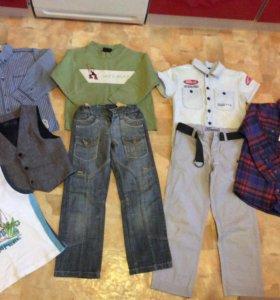 Одежда для мальчика на 5-6л