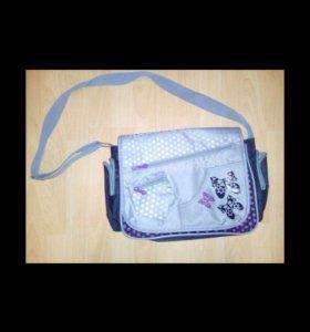 Школьная сумка через плечо, торг