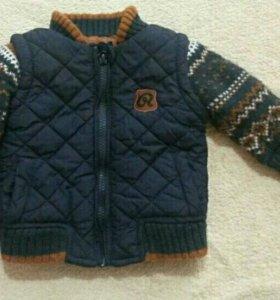 Куртка 0-3 m.