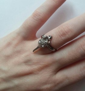 Кольцо с мышкой