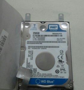 Жесткий диск для ноутбука на 250гб