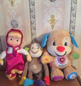 Поющие развивающие игрушки