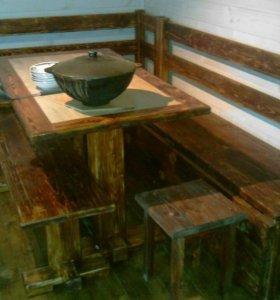 Кухонный комплект под старину.