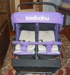 Детская коляска для близнецов или погодок!