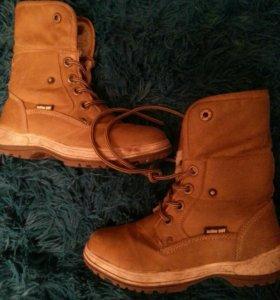 Ботинки осень зима кожа 33