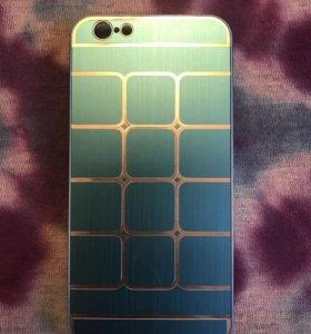 Алюминиевый чехол на iPhone 6