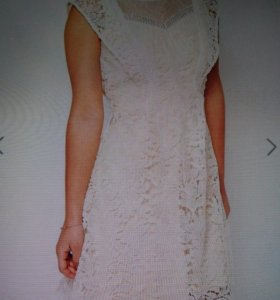 Платье летнее ажурное