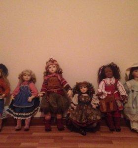 Куклы коллекционные фарфор