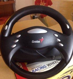 Игровой руль genius speed weel 3 usb