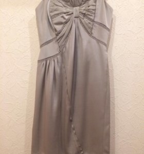 Коктельное платье без бретелек