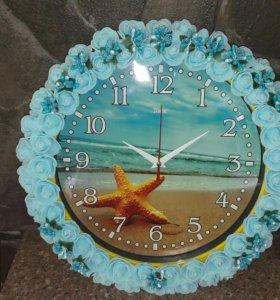 Часы настенные Морская звезда