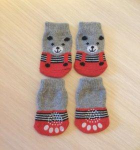 Носочки для собак, размер S