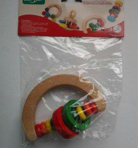 Игрушка погримушки деревянная
