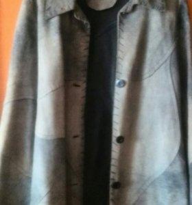 Куртка. Натуральная кожа. Б. У