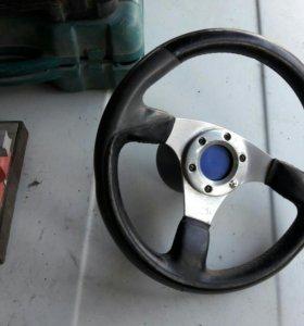 Спорт руль на ВАЗ