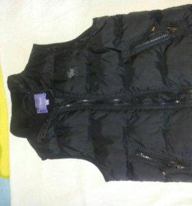 Флисовая кофта, куртка-безрукавка