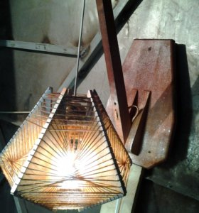 Абажур светильник для дачи