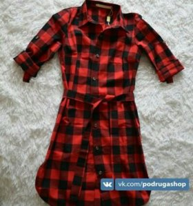 Платье-рубашка 42,44