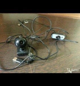 usb видеокамеры Logitech Webcam C120 и C100