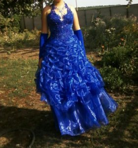 Вырускное платье!