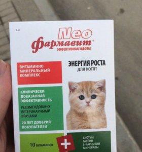 Витамины Фармавит NEO для котят