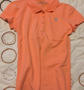Поло женское , персикового цвета