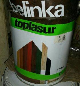 Краска Belinka Toplasur №11 10л белая