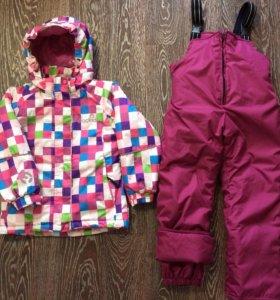 Зима, куртка крокид сост.новой., штаны новые,