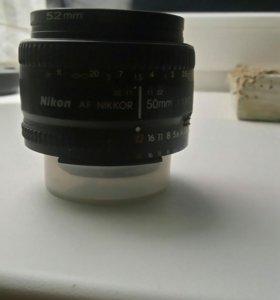 Объектив Nikon AF NIKKOR 50mm 1:1.8G