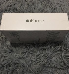 iPhone 6 64g silver новый!