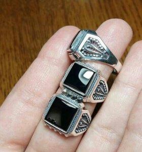 Мужские перстни серебро 925 пробы