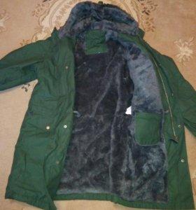 Новая военная куртка