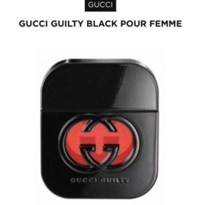 Gucci guilty black женские