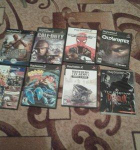 Игры на PS2 Б/У Возврату подлежат