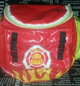 Детский рюкзачок пожарного