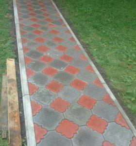 Укладка под ключ тротуарной плитки