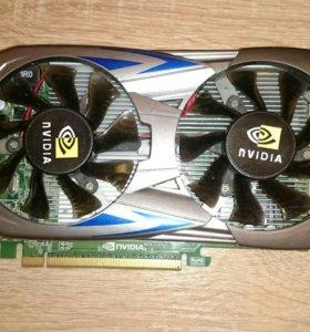 Видеокарта Nvidia gtx550 GDDR5 2gb