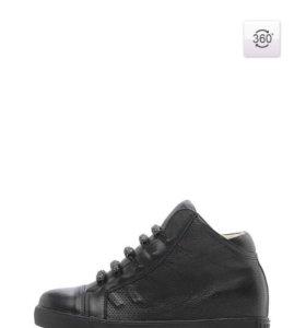 Кожаные ботиночки(сникеры)