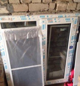 Пластиковое окно veka 70mm