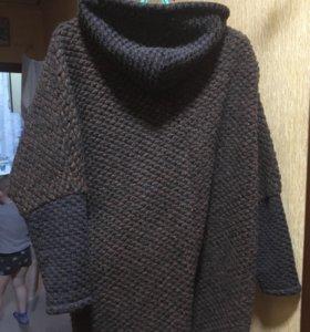 Новая накидка, пончо, пальто.
