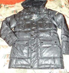 Новая куртка пуховик. Рост 176. На подростка