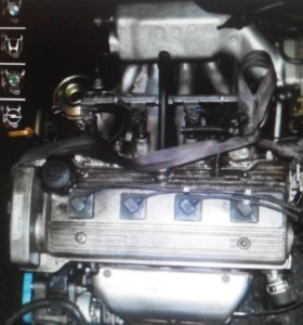 Двигатель Toyota Carina E 4A-FE Corolla Celica