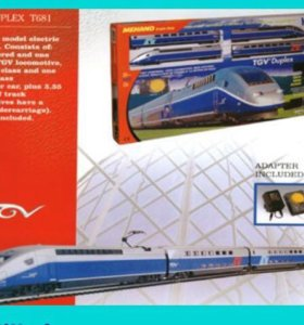(П3А9)ЖЕЛЕЗНАЯ ДОРОГА MEHANO TGV DUPLEX Т681