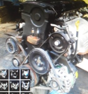 Двигатель Kia Ceed 1.6 D4FB Soul Cerato