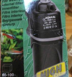 Внутренний фильтр для аквариума Fan 1 plus