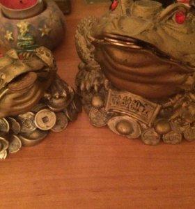 Лягушки приносящие деньги,удачу