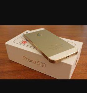Продам iPhone 5s, gold,32gb